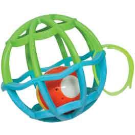 Baby Ball Luz e Som Verde/Azul Buba