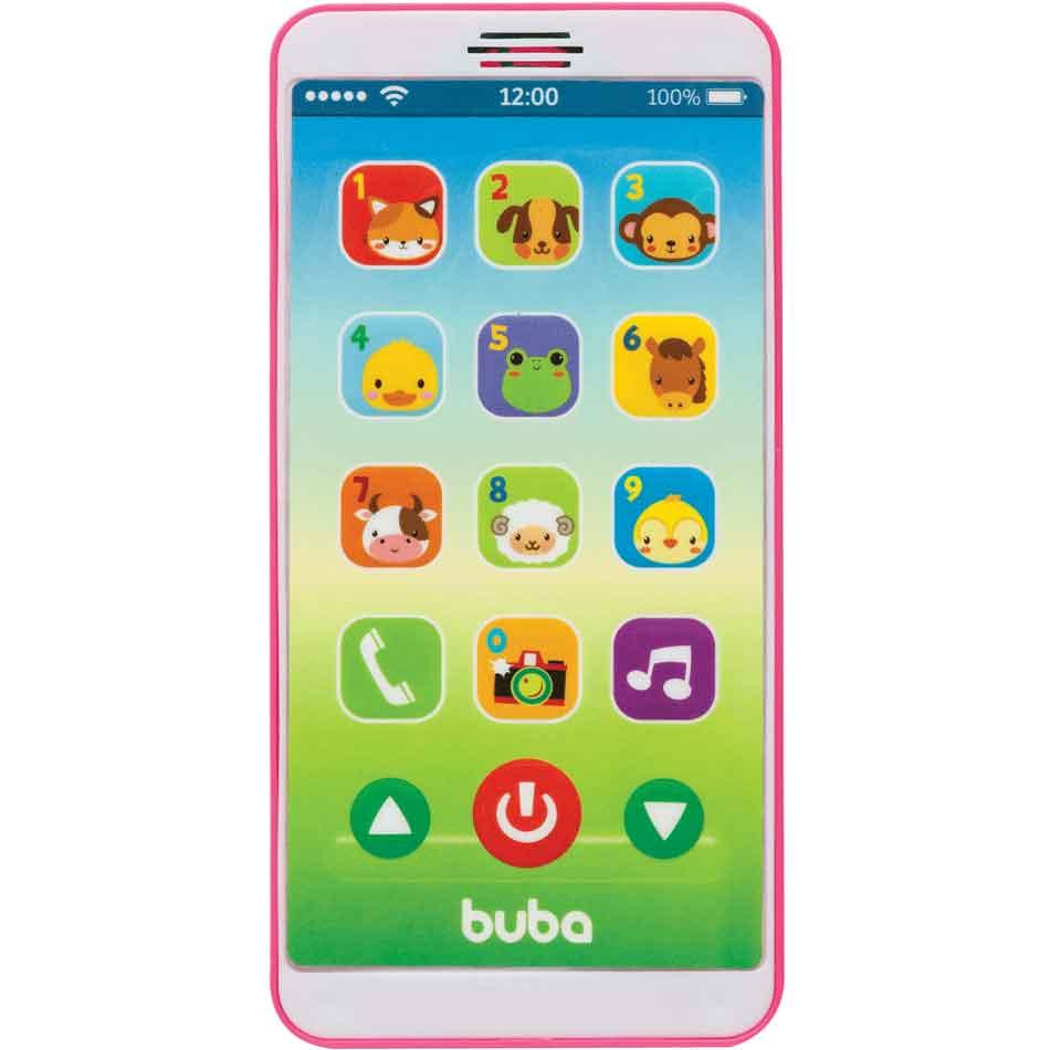 Baby Phone Rosa Menina Buba