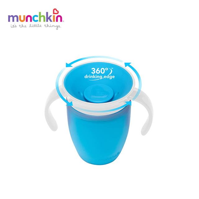Copo de Treinamento 360 Munchkin Azul