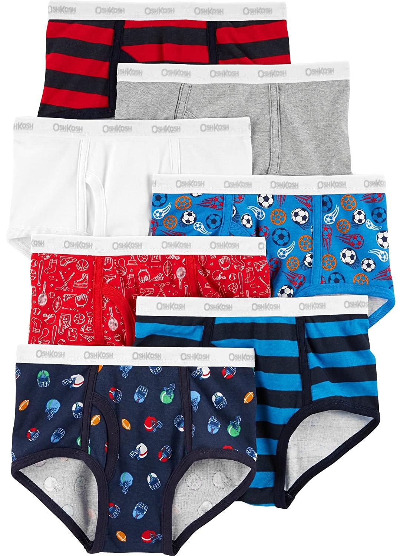 Cueca Oshkosh Futebol kit com 7 peças