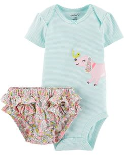 Conjunto Carters Body Dog e Calcinha