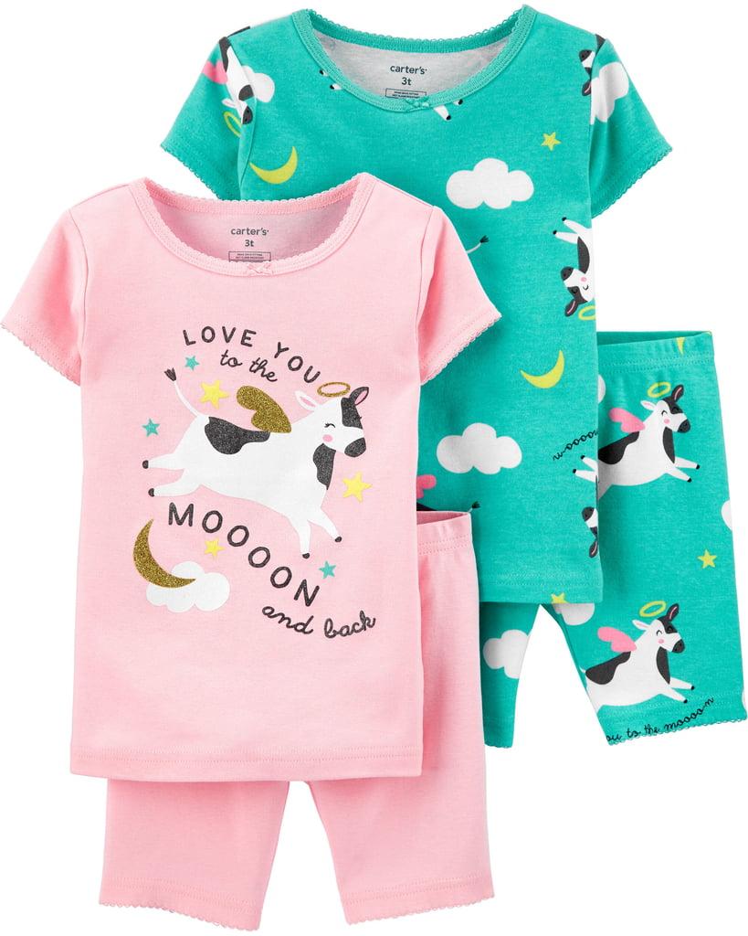 Kit Pijama Carters Vaquinha Menina