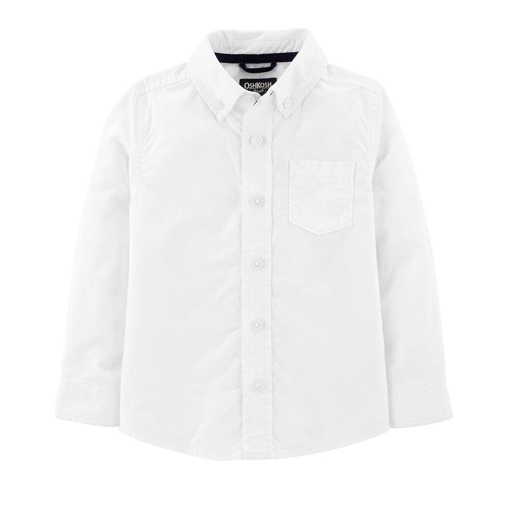 Camisa Infantil Branca Oshkosh