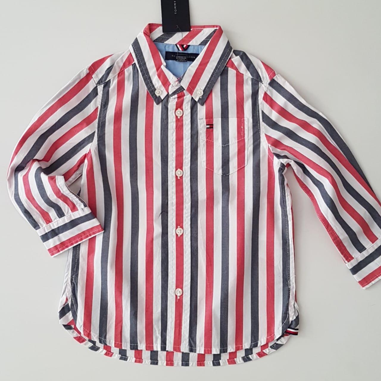 Camisa Infantil Tommy Listrada