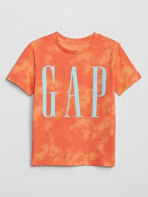 Camiseta Infantil Gap Laranja Tie Dye - Cópia (1)