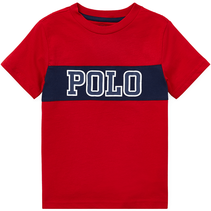 Camiseta Infantil Ralph Lauren Vermelha