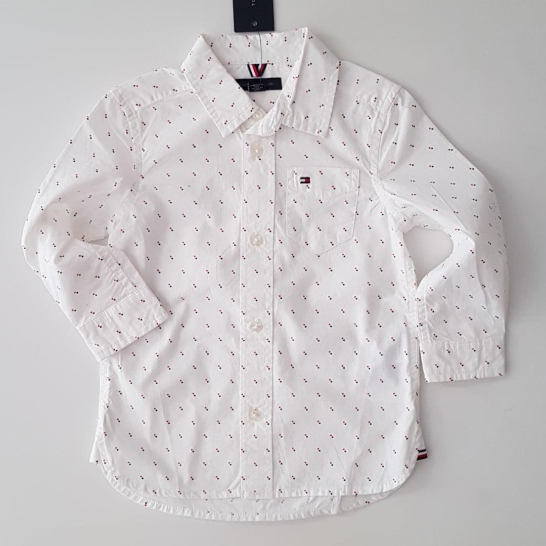 Camiseta Infantil Tommy Of White