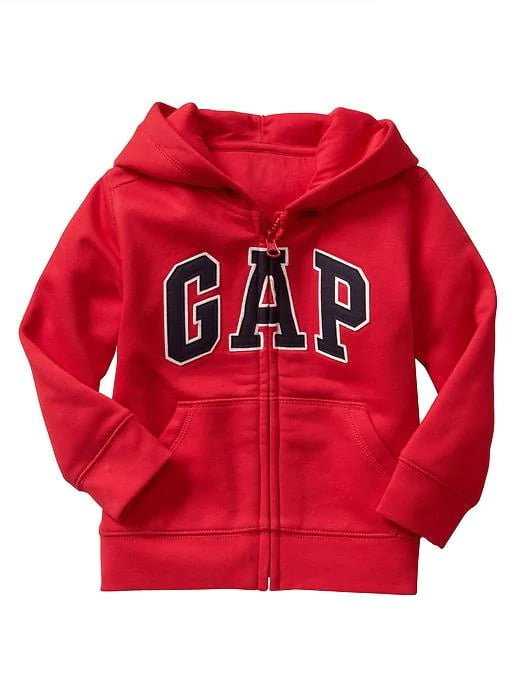 Moleton Gap Infantil Menino Vermelho