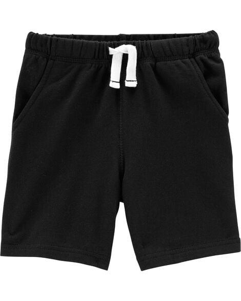 Shorts Infantil Carters Preto Menino