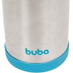 Garrafa Termica Inox Azul Buba