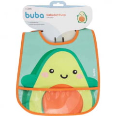 Babador Impermeavel Frutti Abacate Buba