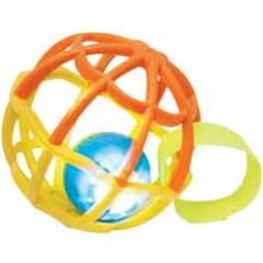 Baby Ball Luz e Som Amarelo/Laranja Buba