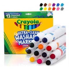 Canetinhas Laváveis Crayola