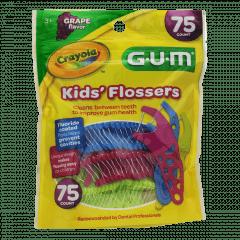 Fio Dental Infantil Crayola - 75 unidades