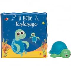 Kit Livrinho de Banho Tartaruga Buba