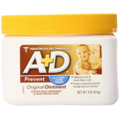 Pomada A+D Prevent - Pote 454 grs