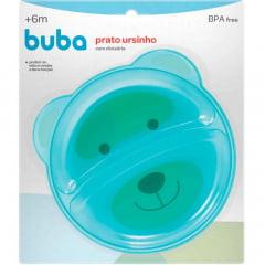 Pratinho Ursinho Azul com Divisoria Buba