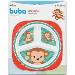 Prato com Divisórias Macaco Buba