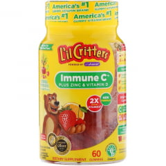 Vitamina Infantil Lil Critters Imune C - 60 gomas