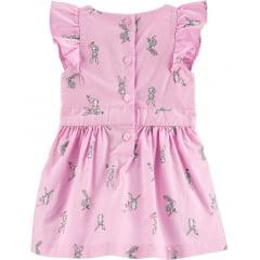 Vestido Carters Rosa Coelhinho Menina