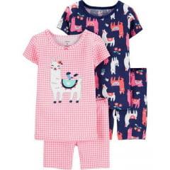 Kit Pijama Carters Lhama Menina