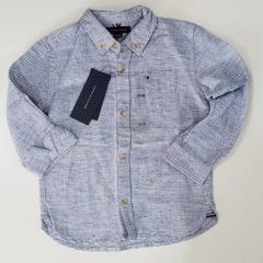 Camisa Infantil Tommy Listrada Menino