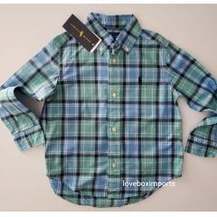 Camisa Polo Ralp Lauren Infantil Xadrez