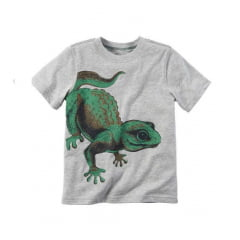 Camiseta Carters Cinza Lagarto Menino