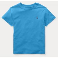 Camiseta Infantil Ralph Lauren Azul Menino