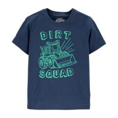 Camiseta Oshkosh Dirt Manga Curta