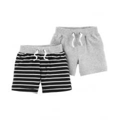 Shorts Carters Menino - kit com 2 unidades