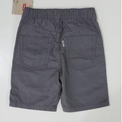 Shorts Infaantil Cinza Levis