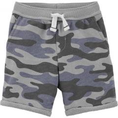 Shorts Infantil Carters Cinza Menino