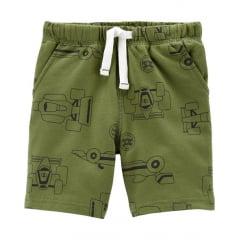 Shorts Infantil Carters Verde Menino