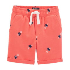 Shorts Infantil Oshkosh Laranja Menino